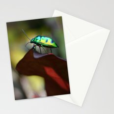 Iridescent Bug (Philippines) Stationery Cards