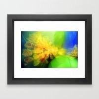 Daffs Framed Art Print