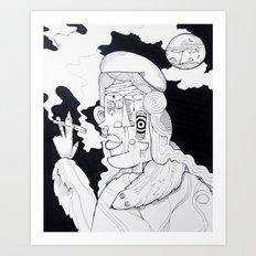 Rich Woman 2 Art Print