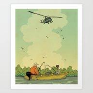 Vietnam Story 2 Art Print