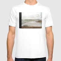 Landscape II Mens Fitted Tee White SMALL