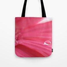Pink Tear Drop Tote Bag
