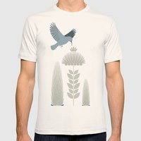 Sunbird Mens Fitted Tee Natural SMALL