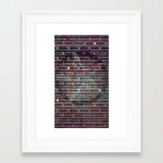 Stars & Stripes Framed Art Print