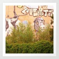 STREETART BERLIN, GERMANY by Jay Hops Art Print