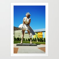 Giant Marilyn Art Print