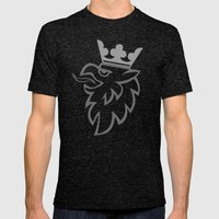 Griffin Mens Fitted Tee Tri-Black SMALL