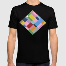 Map 45 SMALL Black Mens Fitted Tee