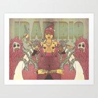 IRADIDIO Art Print