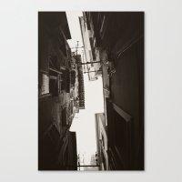 Kerkyraika Perigrammata #01 Canvas Print