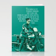 Stationery Cards featuring T.E. Lawrence On His Bro… by Saddle Bums