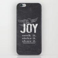JOY...share It! iPhone & iPod Skin