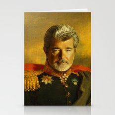 George Lucas - Replacefa… Stationery Cards