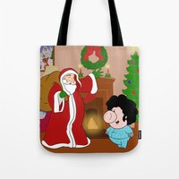 Santa Claus came to town! Tote Bag