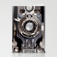 67-6 VINTAGE CAMERA COLL… Stationery Cards