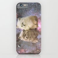 iPhone & iPod Case featuring Space Cats by Ruth Hannah