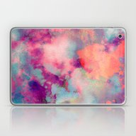 Untitled 20110625p (Clou… Laptop & iPad Skin