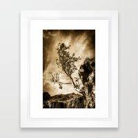Vintage Tree Framed Art Print