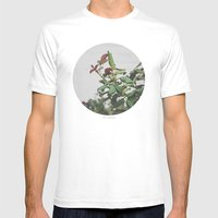 Rose Hips Mens Fitted Tee White SMALL