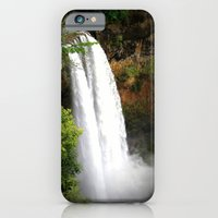 iPhone & iPod Case featuring Wailua Falls by Right As Rain