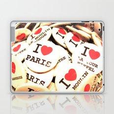 I love Paris Laptop & iPad Skin