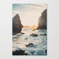Sunset at El Matador Canvas Print