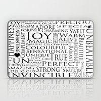 You Are All Of This And More!. Laptop & iPad Skin