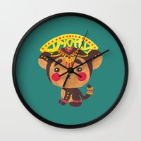 The Little Monkey King Wall Clock