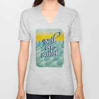 Sail On Sailor, Unisex V-Neck