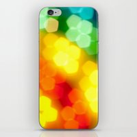 Rainbow! iPhone & iPod Skin