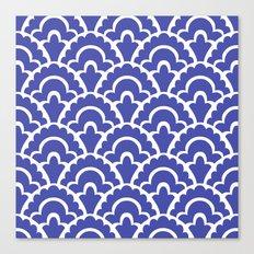 Fan Pattern Canvas Print
