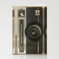 camera Stationery Cards featuring CAMERA by Monika Strigel