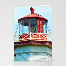 North Cape Lighthouse Top Stationery Cards