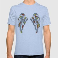 wings Mens Fitted Tee Athletic Blue SMALL