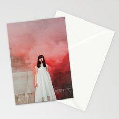 Red smoke Stationery Cards
