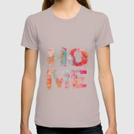 Home Womens Fitted Tee Cinder SMALL