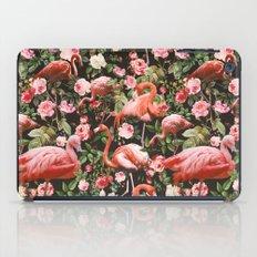 Floral And Flemingo Patt… iPad Case