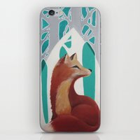 Fox Cathedral iPhone & iPod Skin