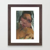 Zirconia Framed Art Print