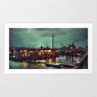 Emotion Blur Art Print