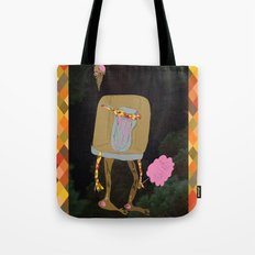 Silence Walks Tote Bag