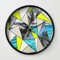 PALM POINT Wall Clock