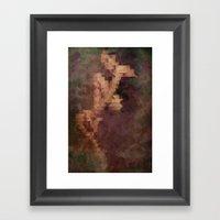 Figure Framed Art Print