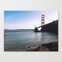 Golden Gate Bridge. Autu… Canvas Print