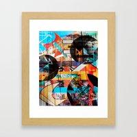 Lights and Sounds Framed Art Print