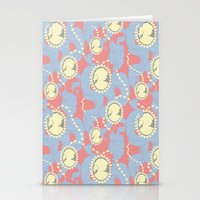 Cameo & Trailing Hair //… Stationery Cards