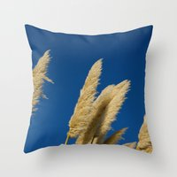 A Soft Breeze, Against A… Throw Pillow