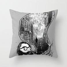 Ginsberg - Howl  Throw Pillow
