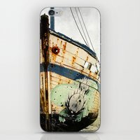 Boat Wreck #1 iPhone & iPod Skin