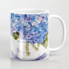 Hydrangea Painting Mug